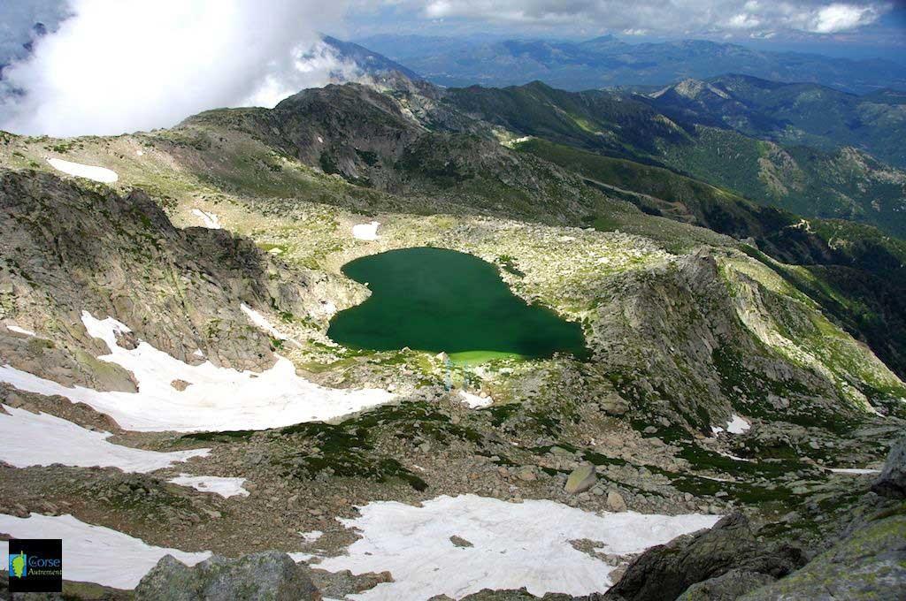 Le lac de Bastani, Corse