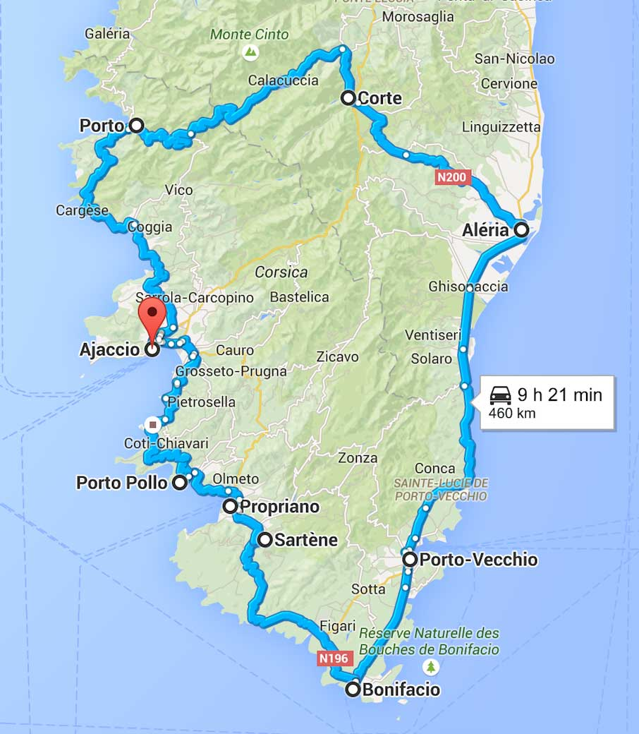 Circuit 7 Jours Corse Du Sud