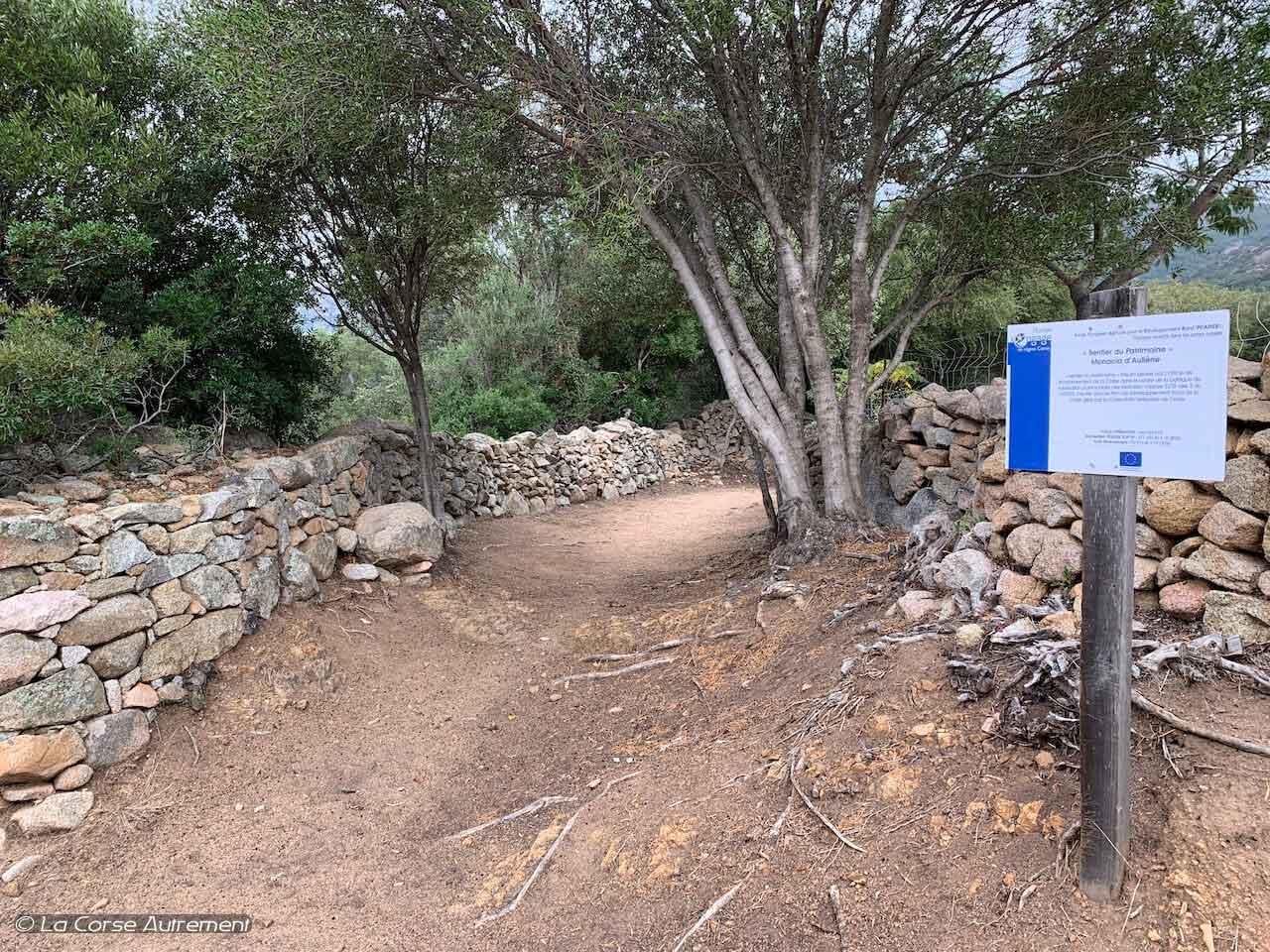 sentier du patrimoine de Monacia d'Aullène