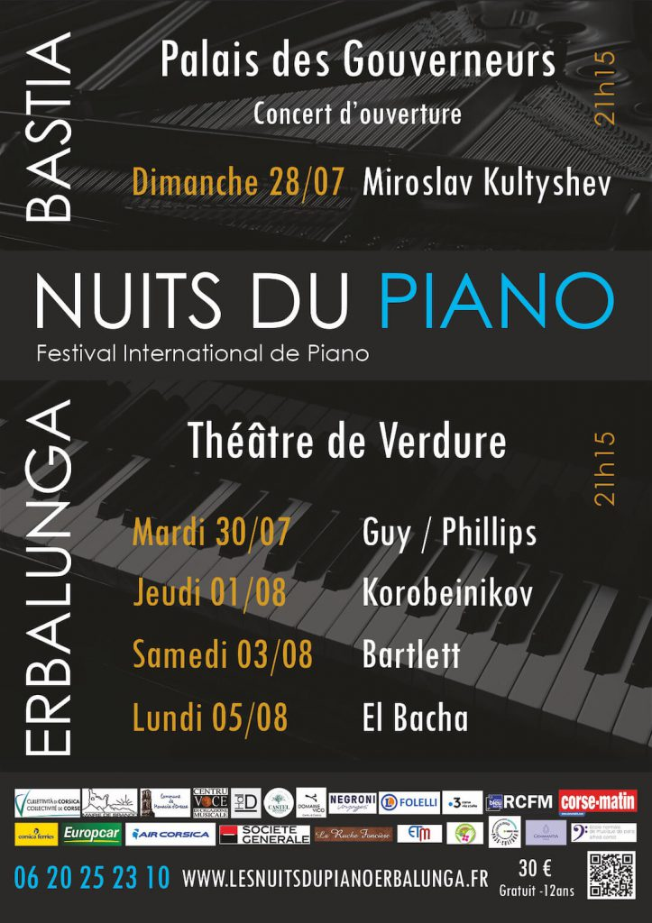 Festival Nuits du Piano 2019