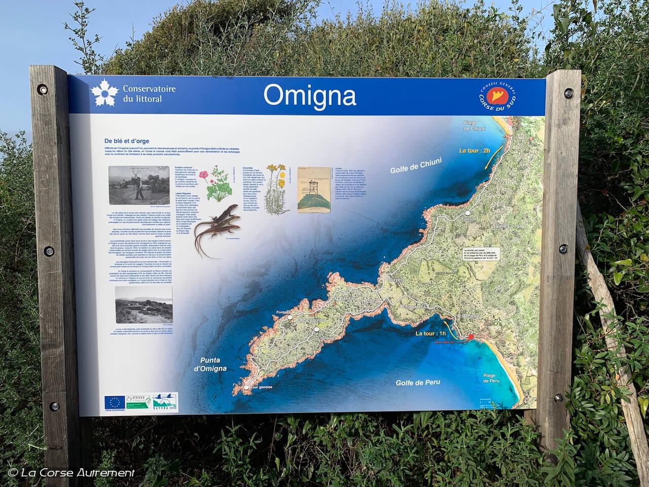 Tour d'Omigna