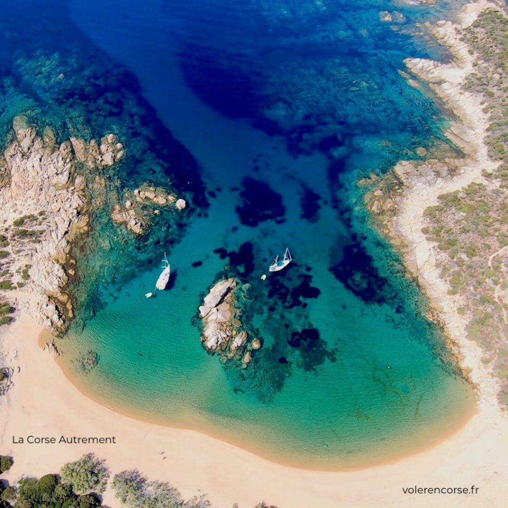 Baptême de l'air en autogire en Corse