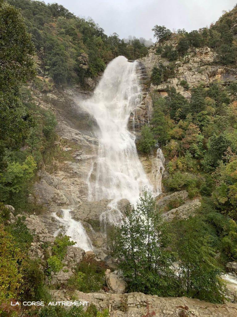 Cascade du Voile de la Mariée, Corse