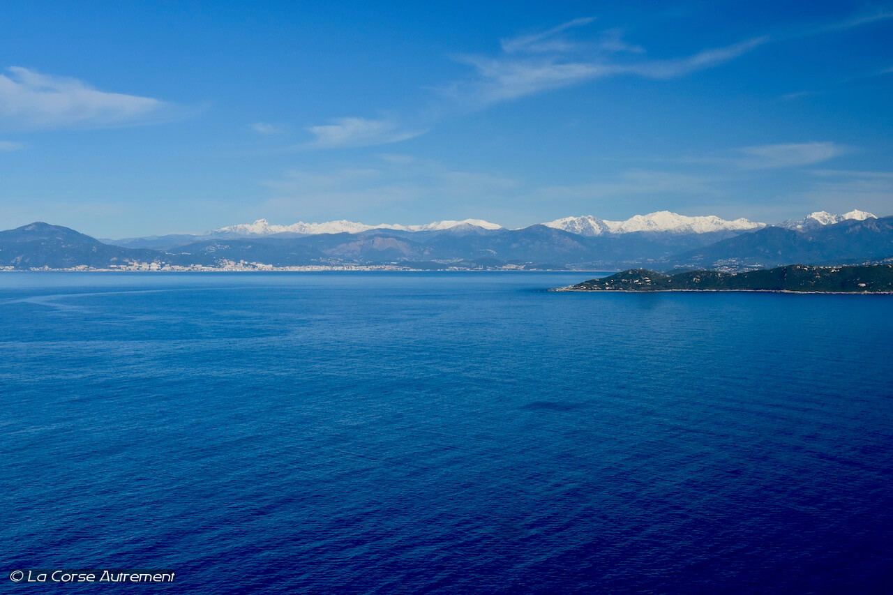 La vue depuis la tour de Capo di Muro