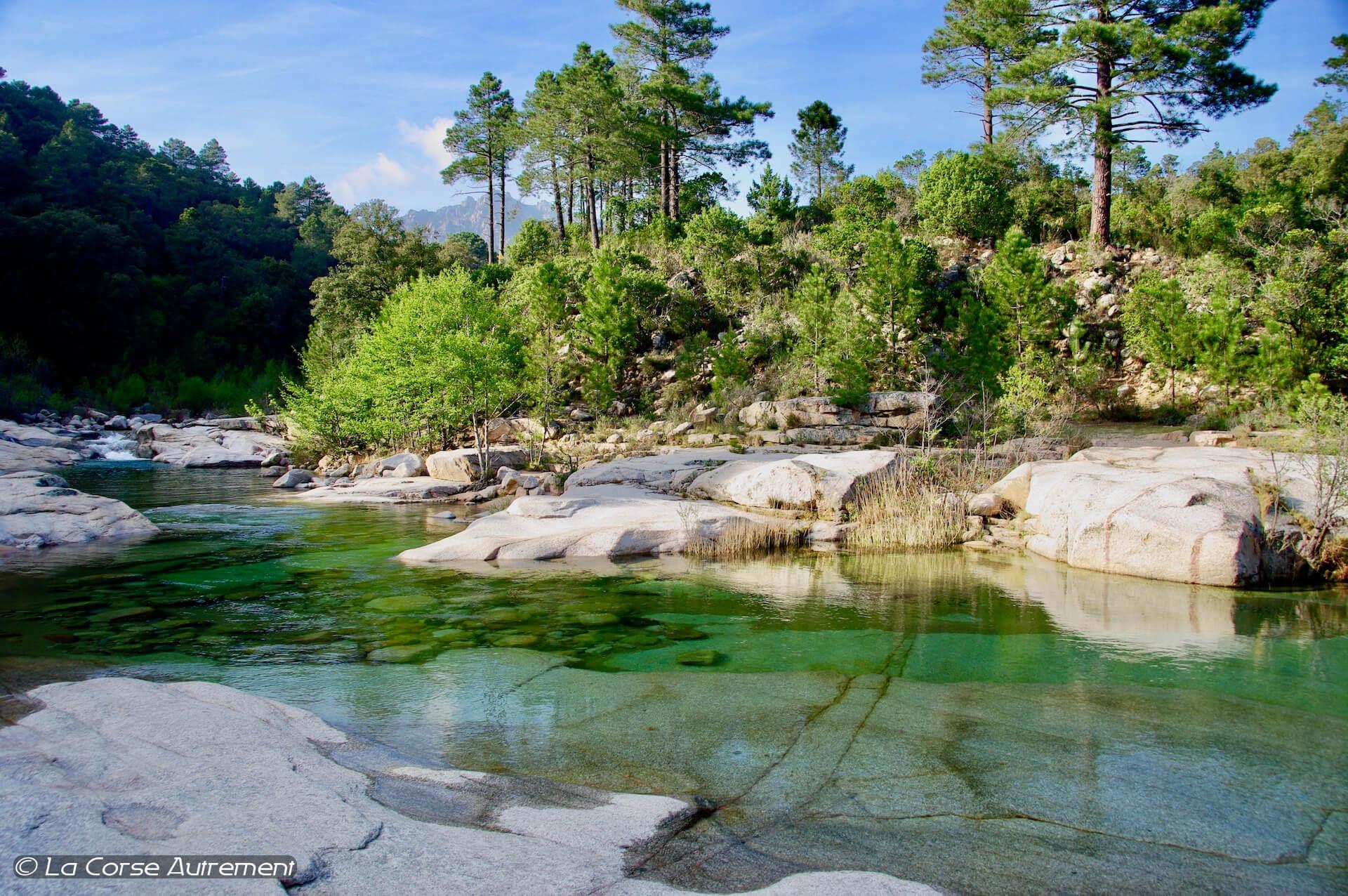 Rivière du Cavu en Corse