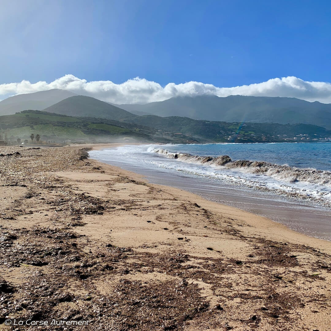 La plage du Golfe de Lava proche d'Ajaccio