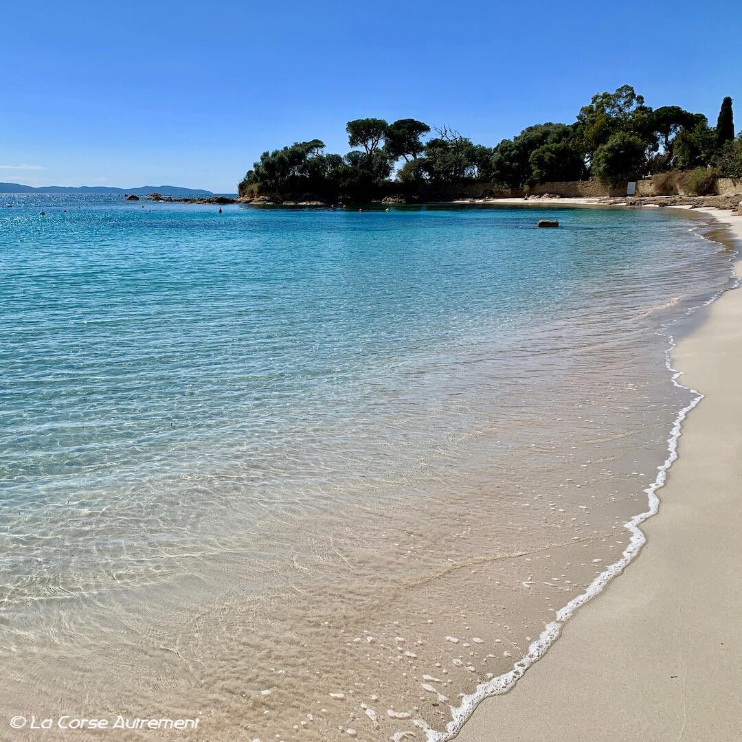 La plage de Marinella, Ajaccio