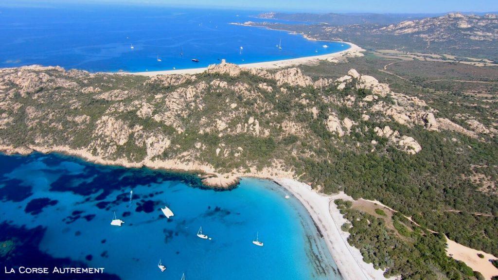 La plage de Roccapina, Corse