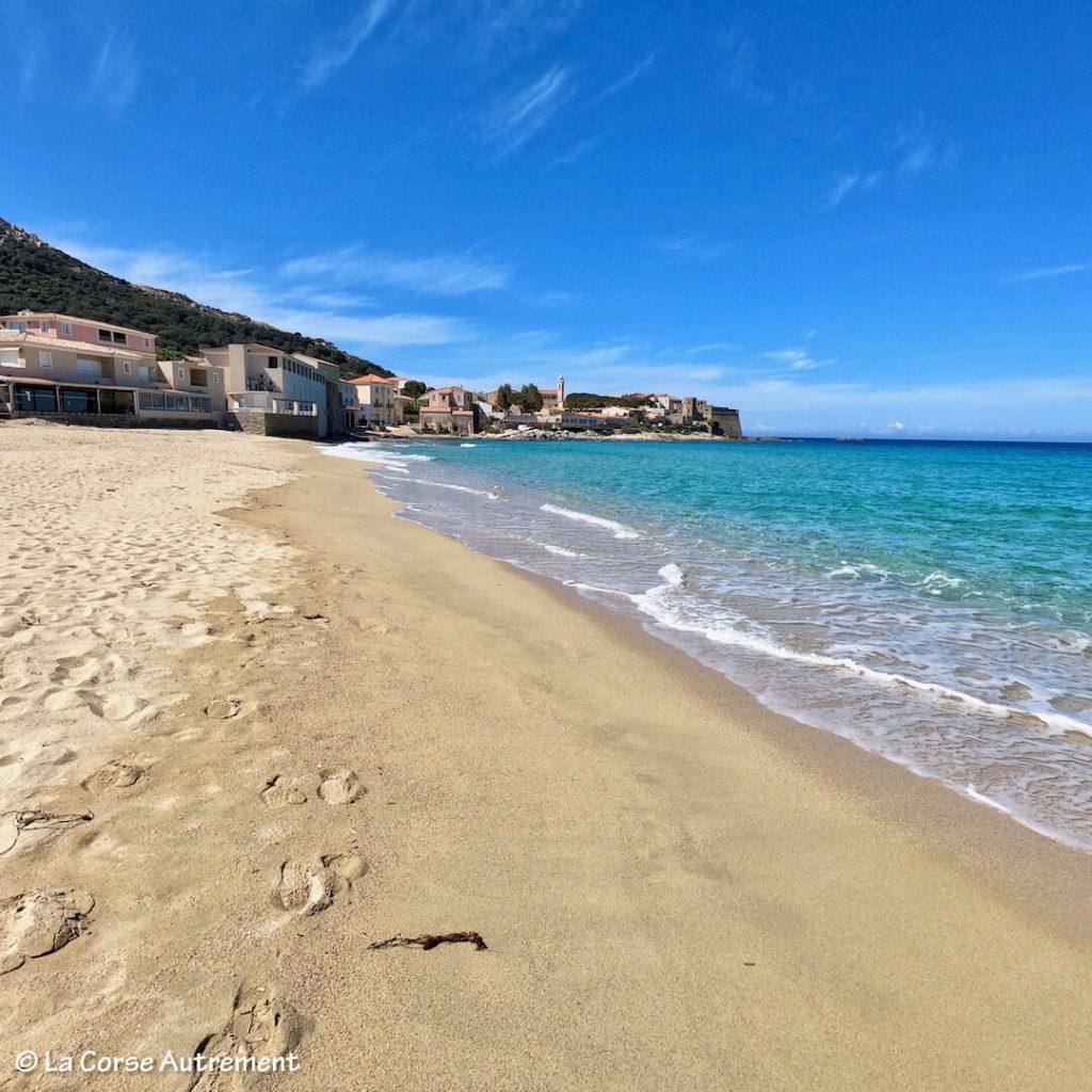 Algajola Aregno plage