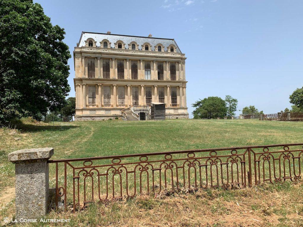Château de la Punta, Barrage et Fontaines de Lisa