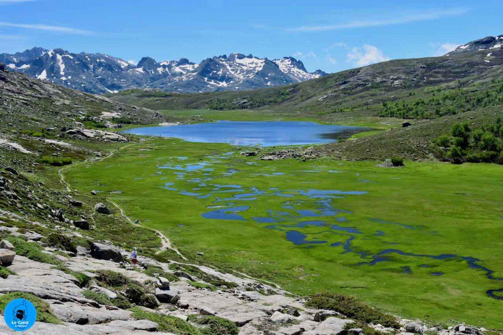 Randonnée vers le lac de Nino