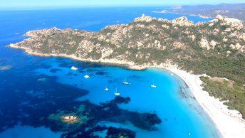 La plage de Roccapina en Corse du Sud