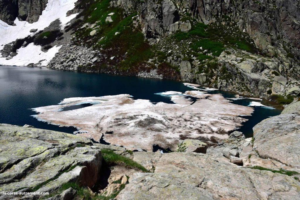 Le lac de Capitello Corse