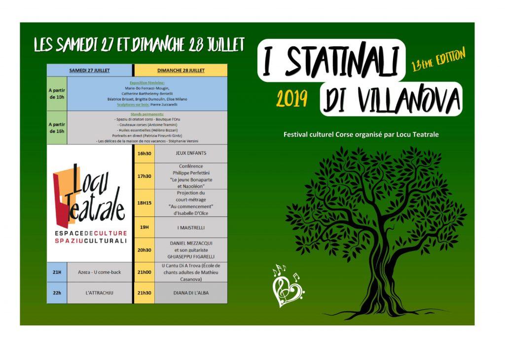 Festival I Statinali di Villanova