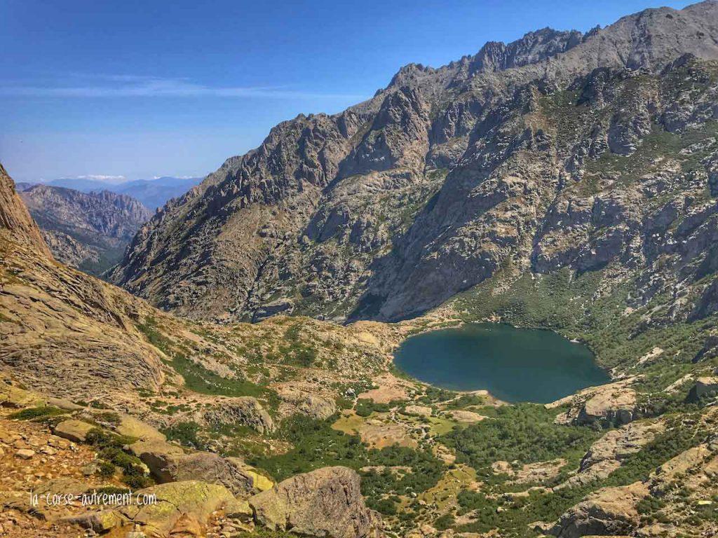 Randonnée vers les lacs de Melo et Capitello