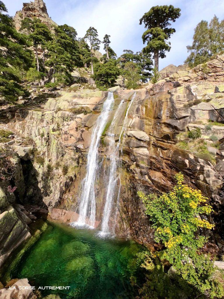 Cascades de Radule en Corse