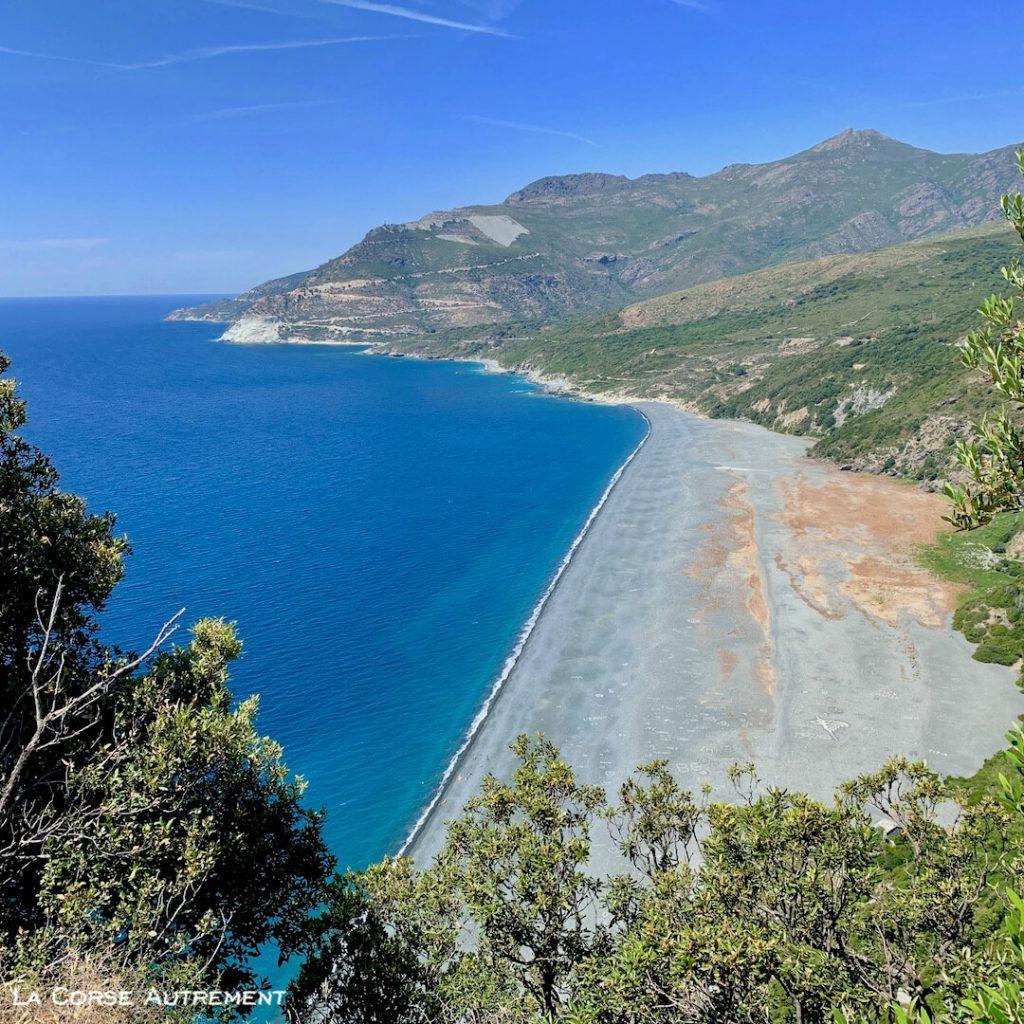Nonza dans le Cap Corse