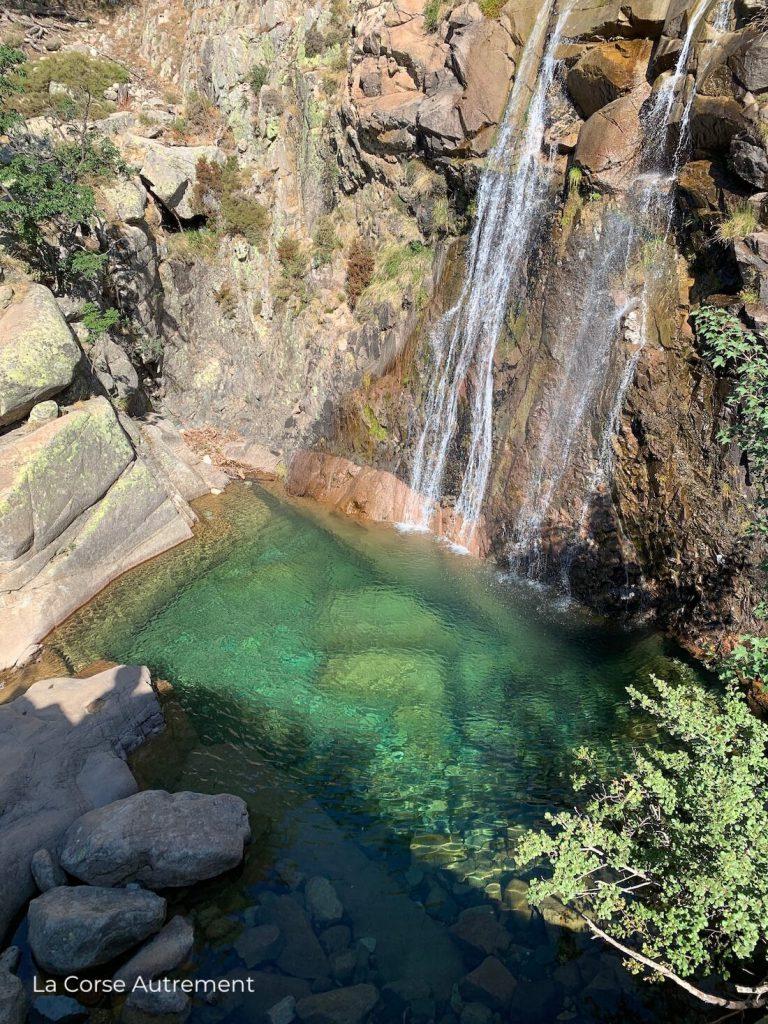 Cascades de Radule, Corse